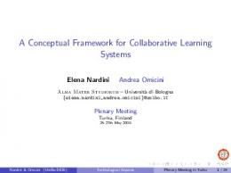 A Conceptual Framework for Collaborative Learning ...