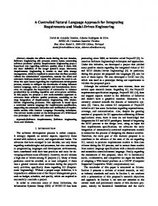 A Controlled Natural Language Approach for Integrating ...