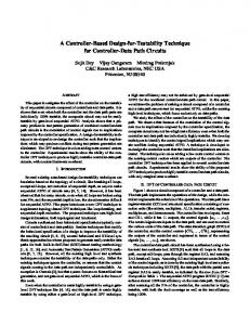 A Controller-Based Design-for-Testability Technique for ... - UCLA CS