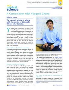 A Conversation with Yuegang Zhang