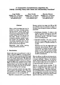 A Cooperative Coevolutionary Algorithm for Jointly ... - CiteSeerX