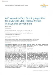 A Cooperative Path Planning Algorithm for a Multiple ... - SAGE Journals