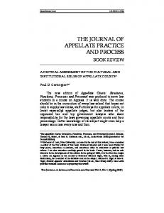 A Critical Assessment of the Cultural and Institutional Roles of ...
