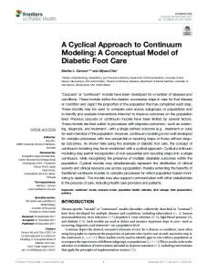 A Cyclical Approach to Continuum Modeling: A ... - Semantic Scholar