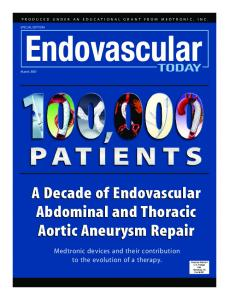A Decade of Endovascular Abdominal and Thoracic Aortic Aneurysm ...