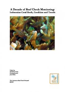 A Decade of Reef Check Monitoring: Indonesian Coral Reefs