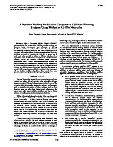 A Decision Making Module for Cooperative Collision Warning System ...