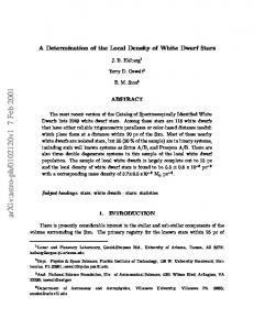 A Determination of the Local Density of White Dwarf Stars