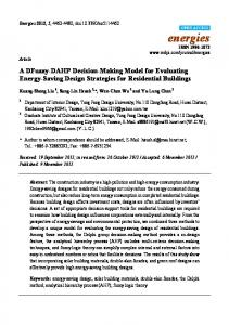 A DFuzzy-DAHP Decision-Making Model for Evaluating Energy ... - MDPI