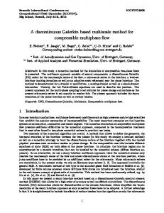 A discontinuous Galerkin based multiscale method for compressible