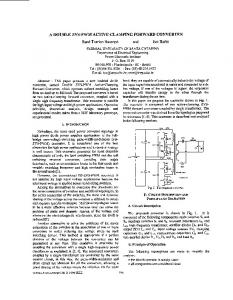 A Double ZVS-PWM Active-Clamping Forward Converter ... - Ivo Barbi