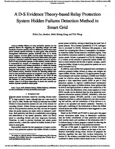 A DS Evidence Theory-based Relay Protection System ... - IEEE Xplore