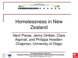 A European perspective on (Youth) Homelessness and the work of ...