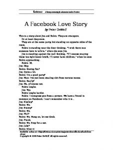 A Facebook Love Story