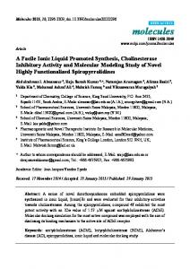 A Facile Ionic Liquid Promoted Synthesis ... - Semantic Scholar