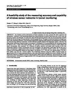 A feasibility study of the measuring accuracy and ... - Springer Link