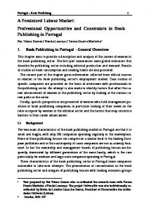 A Feminized Labour Market: Professional ... - Gender Research