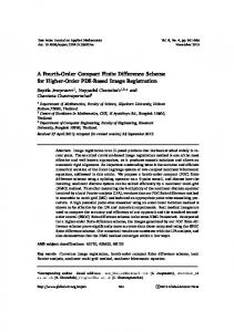 A Fourth-Order Compact Finite Difference Scheme for