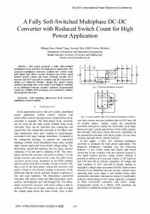 A Fully Soft-Switched Multiphase DC-DC Converter with ... - IEEE Xplore