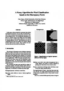 A Fuzzy Algorithm for Pixel Classification based on the Discrepancy ...