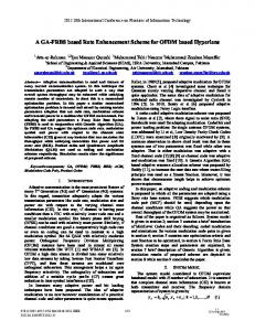 A GA-FRBS Based Rate Enhancement Scheme for ... - IEEE Xplore
