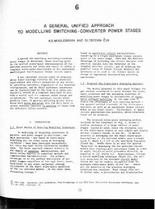a general unified approach to modelling switching-converter power ...
