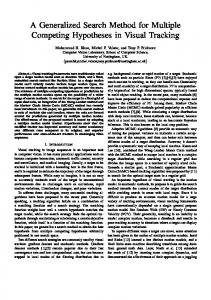 A Generalized Search Method for Multiple Competing Hypotheses in ...