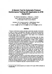 A Generic Tool for Automatic Protocol Conformance Testing with ...