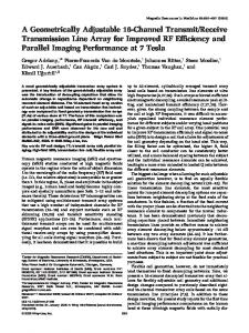 A geometrically adjustable 16-channel transmit ... - Wiley Online Library