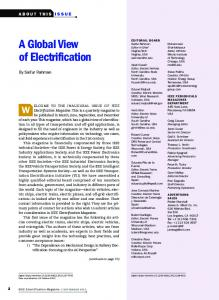 A Global View of Electrification - IEEE Xplore