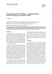 a graph theoretical estimation of the power of indirect effects ...