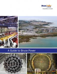 A Guide to Bruce Power