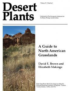 A Guide to North American Grasslands - Biodiversity Knowledge