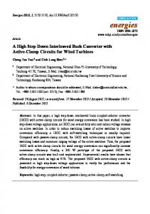 A High Step-Down Interleaved Buck Converter ... - Semantic Scholar