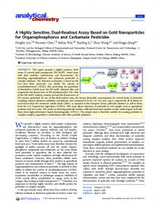 A Highly Sensitive, Dual-Readout Assay Based on ... - ACS Publications
