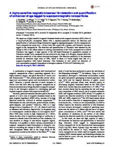 A highly sensitive magnetic biosensor for detection ... - AIP Publishing