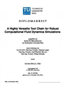 A Highly Versatile Tool Chain for Robust ...