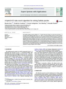 A hybrid AC3-tabu search algorithm for solving ... - Semantic Scholar