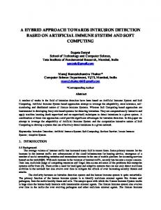 a hybrid approach towards intrusion detection based on ... - arXiv