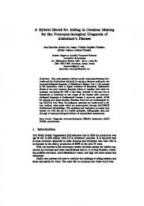 A Hybrid Model for Aiding in Decision Making for the
