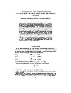 a hybridizable and superconvergent discontinuous galerkin method ...