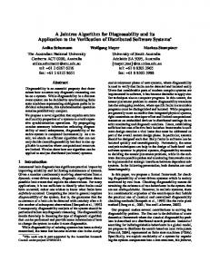 A Jointree Algorithm for Diagnosability and its