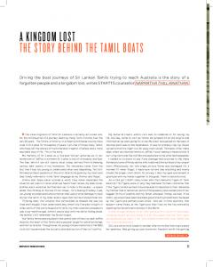 A KINGDOM LOST THE STORY BEHIND THE TAMIL BOATS - startts