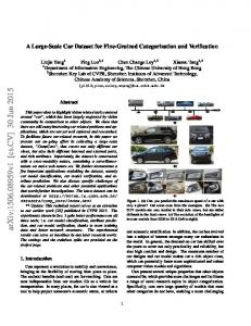 A Large-Scale Car Dataset for Fine-Grained Categorization and ...
