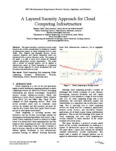 A Layered Security Approach for Cloud Computing ... - IEEE Xplore