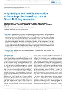 A lightweight and flexible encryption scheme to ...