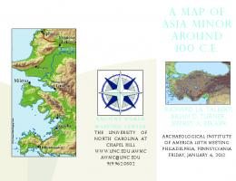 a map of asia minor around 100 ce - Ancient World Mapping Center ...