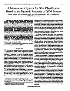 A measurement system for odor classification