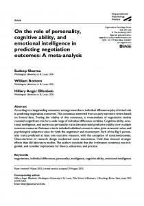 A meta-analysis - Olin Business School - Washington University in St ...