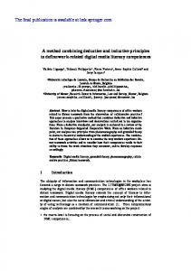 A method combining deductive and inductive